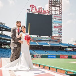 Nikki and Brian Phillies Stadium